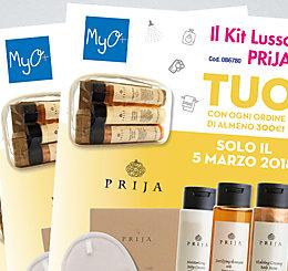 Promozione Kit Lusso PRiJA MyO marzo 2018