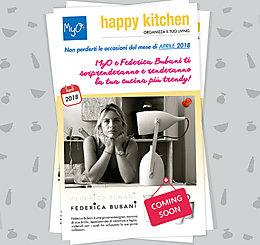 Happy Kitchen! Organizza il TUO Living