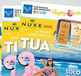 Promozione Trousse Solari Nuxe Sun MyO!