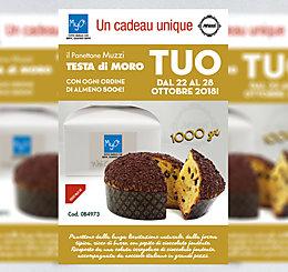 Promozione Panettone Testa di Moro Muzzi MyO