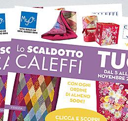 Promozione Scaldotto CALEFFI MyO 2018