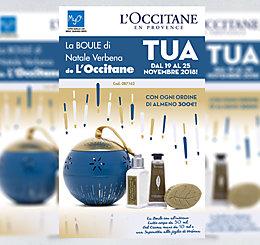 Promozione Boule di Natale Verbena de L'Occitane MyO