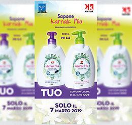 Promozione Detergente mani Karnak Mia!!!