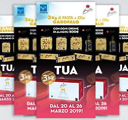 Promozione MyO Pasta GAROFALO 2019