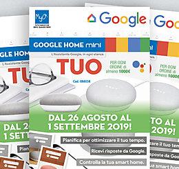 Promozione MyO Google Home Mini agosto / settembre 2019