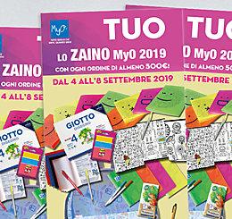 Promozione Zaino MyO settembre 2019