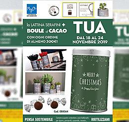 Promozione Lattina Serafini + Boule di Natale 2019