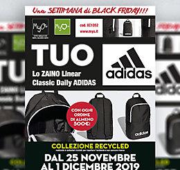 Promozione MyO Black Friday Week > Zaino Classic Adidas