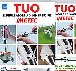 Promozione MyO Frullatore Imetec 2020