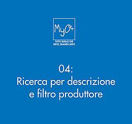 04 - Ricerca per descrizione e filtro produttore