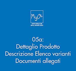 05a - Dettaglio Prodotto Descrizione Elenco varianti  Documenti allegati