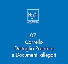 07 - Carrello - Dettaglio Prodotto e Documenti allegati