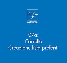 07a - Carrello - Creazione lista preferiti