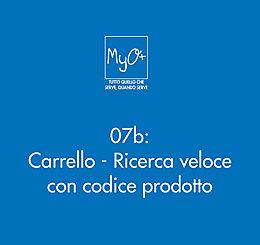 07b - Carrello - Ricerca veloce con codice prodotto