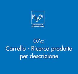 07c - Carrello - Ricerca prodotto per descrizione