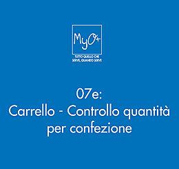07e - Carrello - Controllo quantità per confezione
