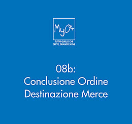 08b - Conclusione Ordine - Destinazione Merce
