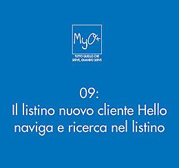 09 - Il listino nuovo cliente Hello - naviga e ricerca nel listino