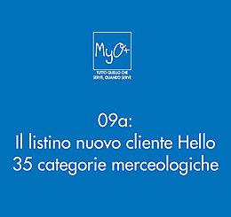 09a - Il listino nuovo cliente Hello - 35 categorie merceologiche