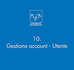 10 - Gestione account - Utente