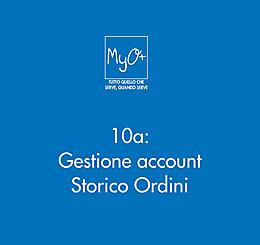 10a - Gestione account - Storico Ordini